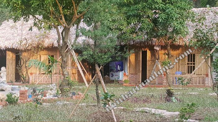 Thi công , thiết kế công trình HomeStay Anh Đại tại Tràng An - Ninh Bình