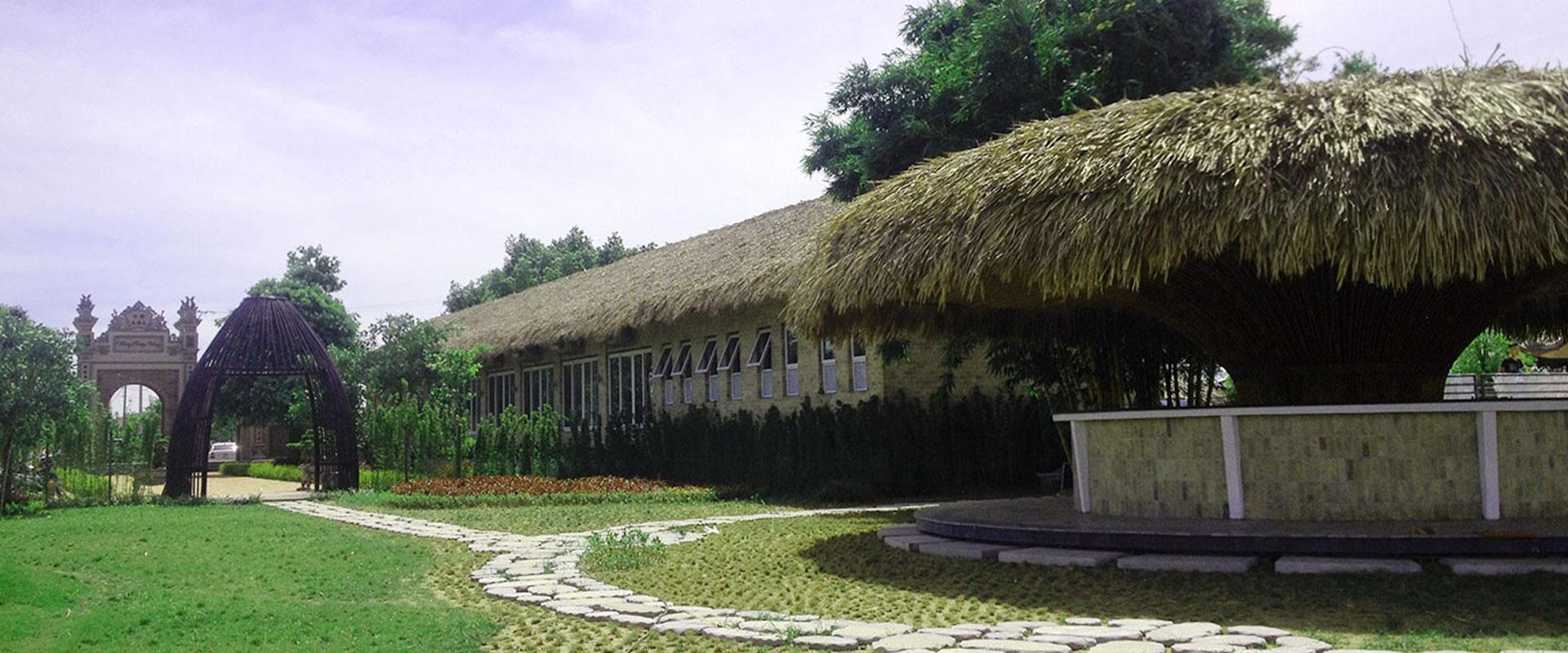 Khu du lịch sinh thái bằng tre trúc