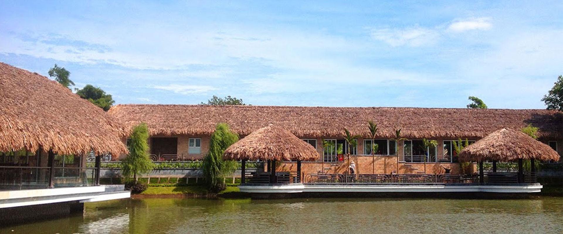 Thi công khu du lịch sinh thái bằng tre trúc